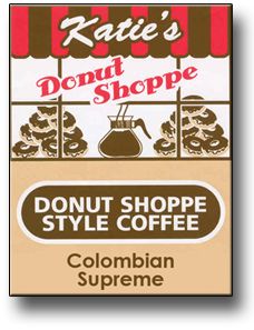 Katie's Donut Shoppe Coffee