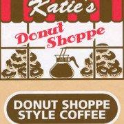 Katies Donut Shoppe Coffee Logo