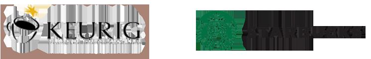 keurig-starbucks-logos - Aroma Coffee Service